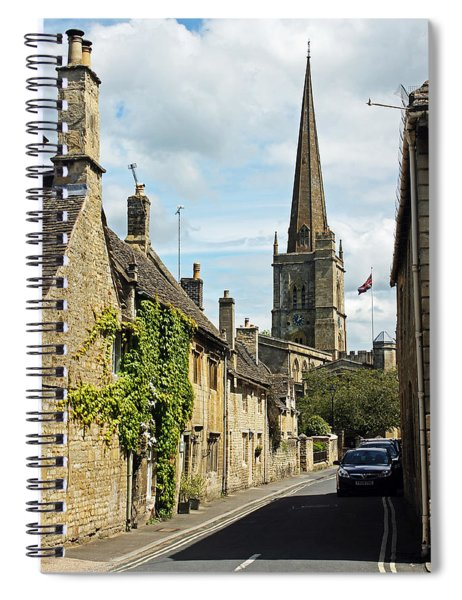 Burford Village Street Spiral Notebook