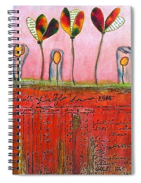 Buried Ledger Spiral Notebook