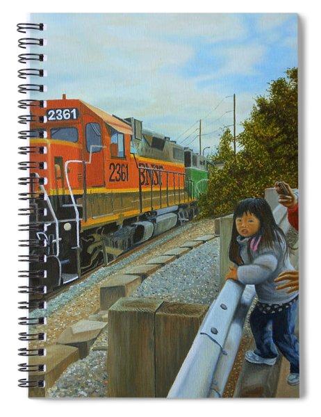 Burlington Northern Santa Fe Spiral Notebook