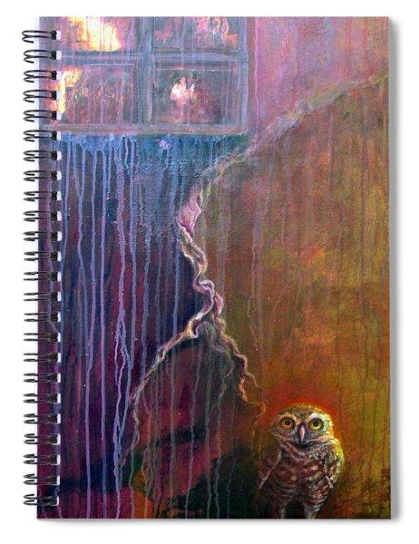 Burrow Spiral Notebook