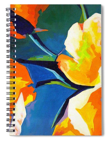 Bursting Colors  Spiral Notebook