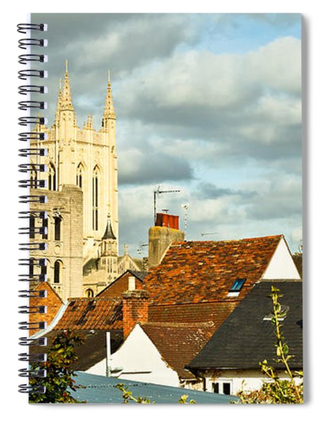 Bury St Edmunds Spiral Notebook
