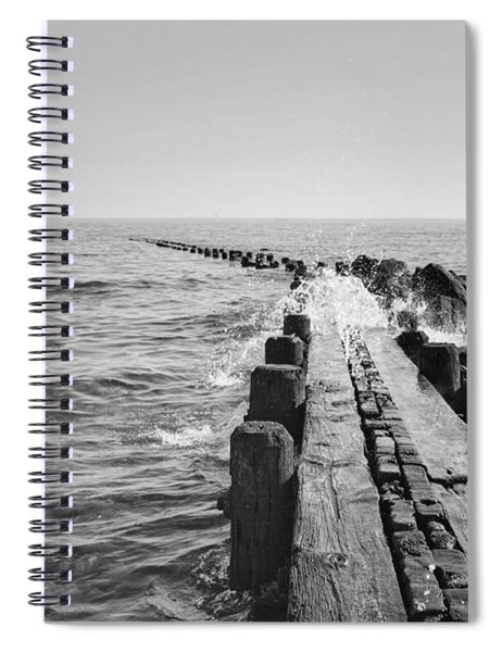 Burying Hill Splash Spiral Notebook
