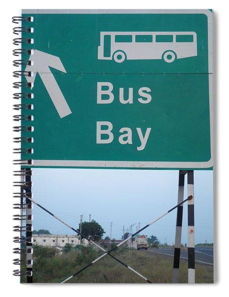 Bus Bay Spiral Notebook