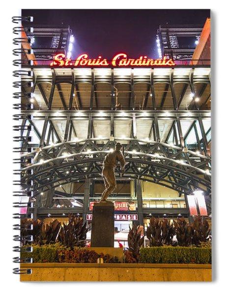 Busch Stadium St. Louis Cardinalsstan Musial Spiral Notebook