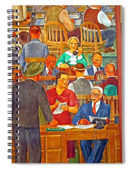 Business Looking Busy Spiral Notebook