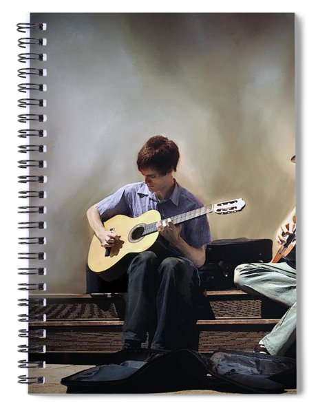 Buskers Spiral Notebook
