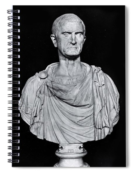 Bust Of Marcus Licinius Crassus Spiral Notebook