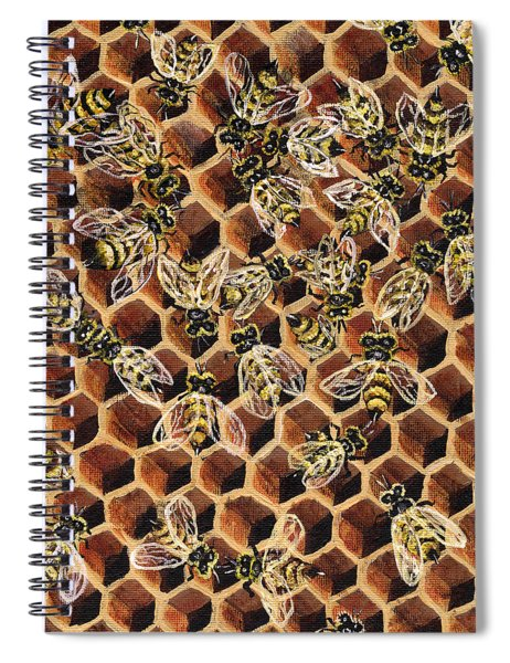 Busy Bee 2 Spiral Notebook