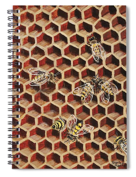 Busy Bee 3 Spiral Notebook