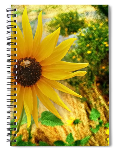 Busy Visitor Spiral Notebook