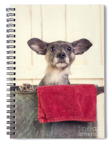 But I Don't Want A Bath Spiral Notebook