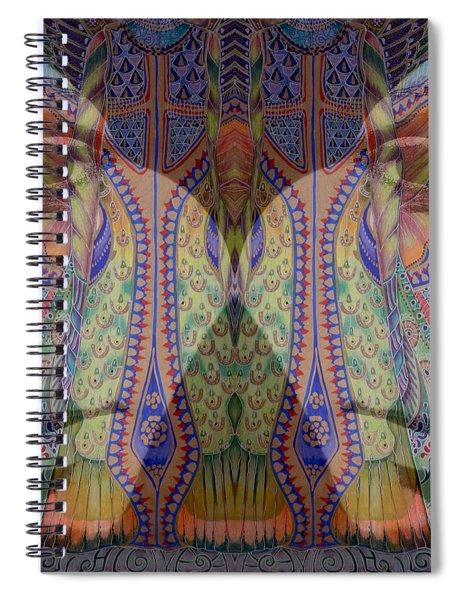 Butterfly Spiral Notebook