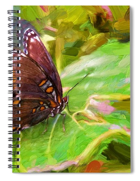 Butterfly - Red-spotted Purple Spiral Notebook
