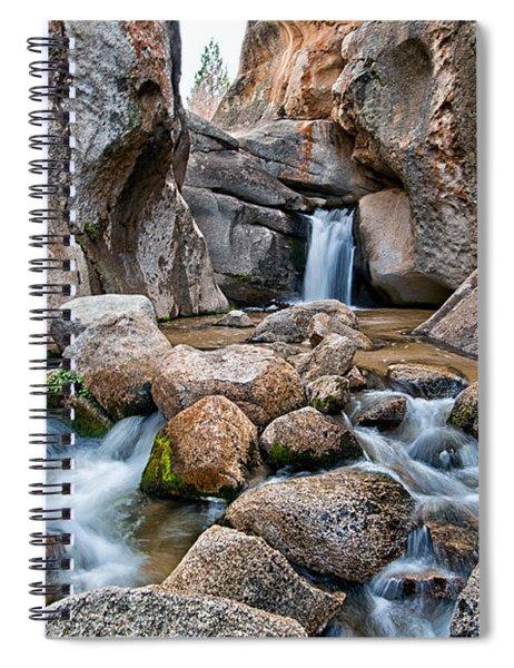 Buttermilks Waterfall Spiral Notebook