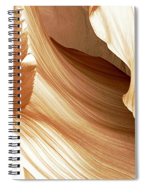 Butterscotch Taffy Antelope Canyon Spiral Notebook