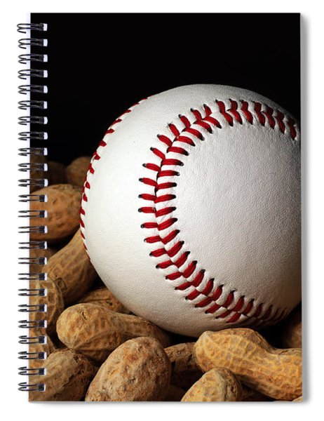 Buy Me Some Peanuts - Baseball - Nuts - Snack - Sport Spiral Notebook