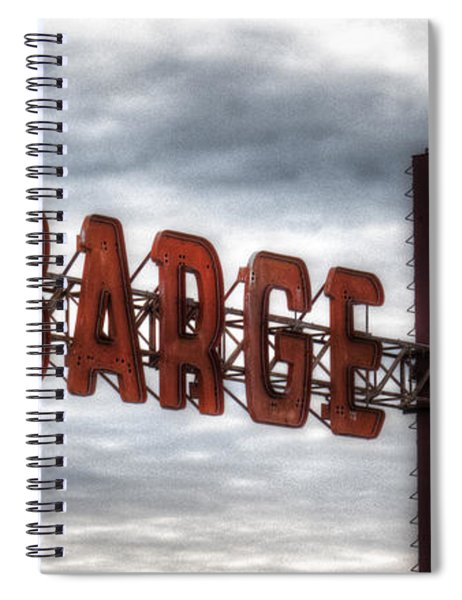 by The Barge Spiral Notebook