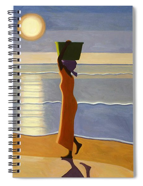 By The Beach Spiral Notebook