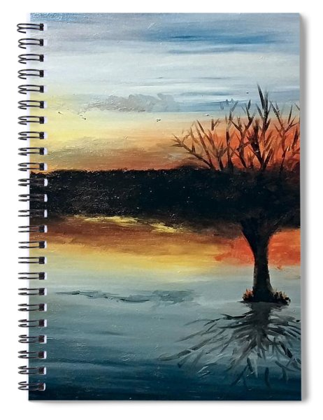 By The Lake Spiral Notebook