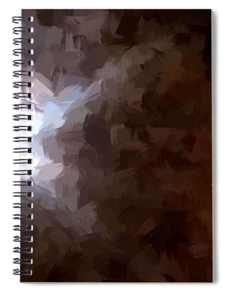 By The Moonlight Spiral Notebook