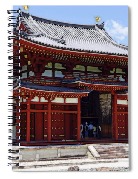Byodo-in Temple Central Hall - Japan Spiral Notebook