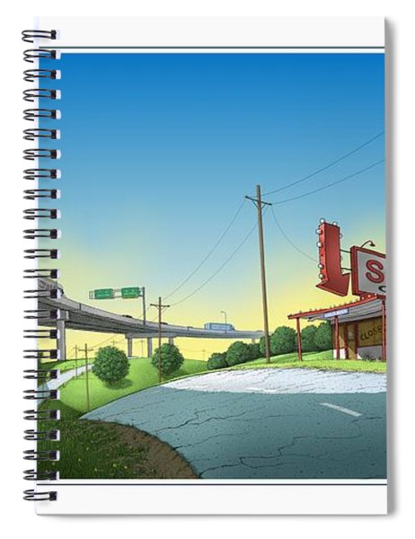Bypassed Spiral Notebook