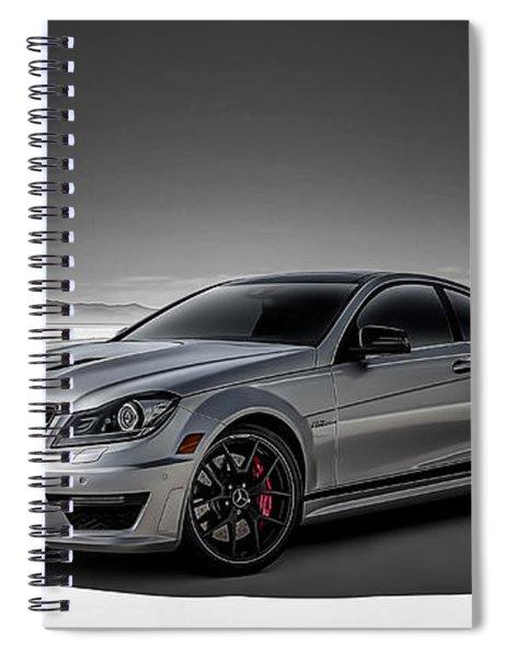 C63 Amg Spiral Notebook