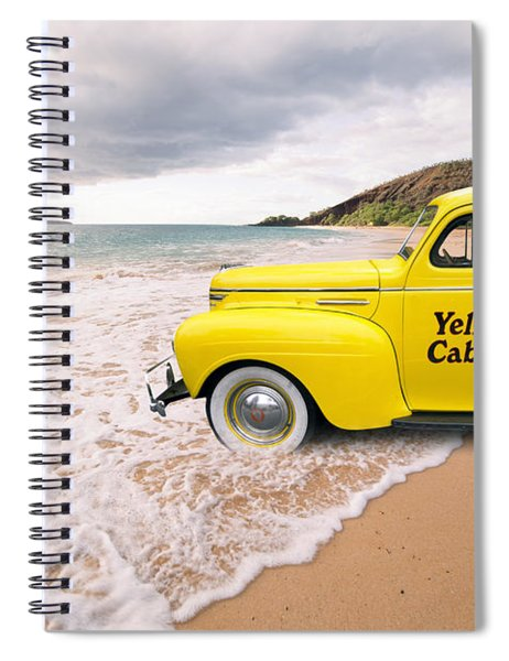 Cab Fare To Maui Spiral Notebook