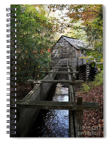 Cable Grist Mill 3 Spiral Notebook