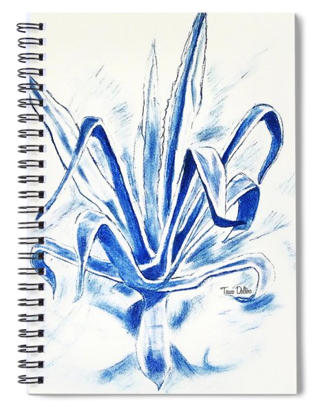 Cactus Blue Spiral Notebook