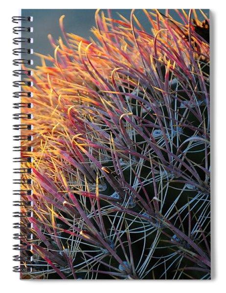 Cactus Rose Spiral Notebook