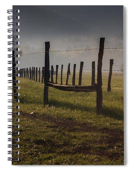 Cades Cove Sunrise Spiral Notebook