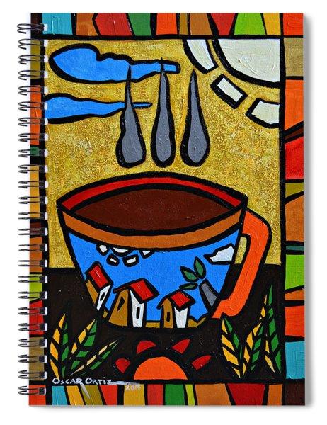Cafe Criollo  Spiral Notebook