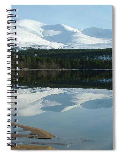 Cairngorm Winter Spiral Notebook
