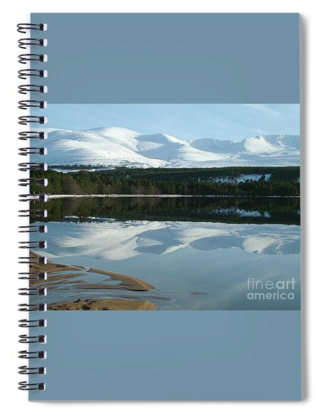 Cairngorm Winter Spiral Notebook