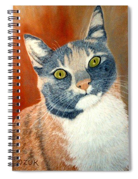 Calico Cat Spiral Notebook by Karen Zuk Rosenblatt