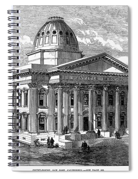 California Courthouse Spiral Notebook