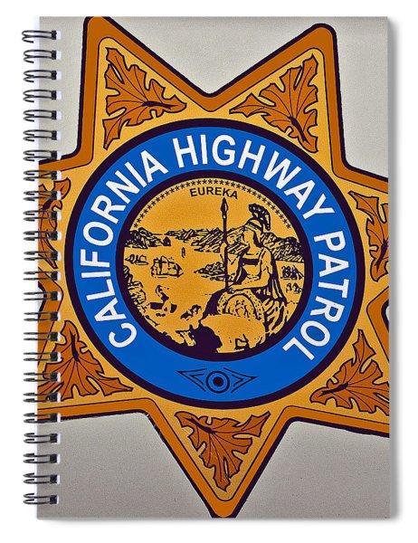 California Highway Patrol Spiral Notebook
