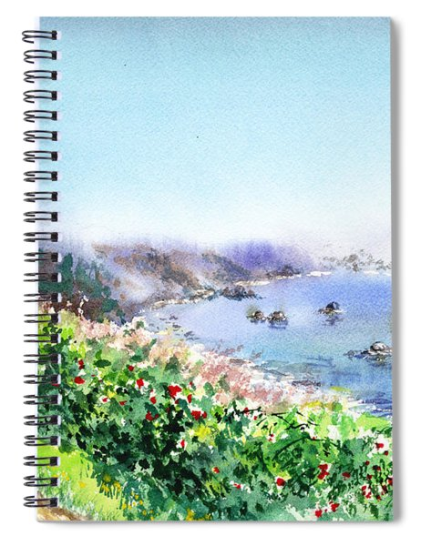 Lighthouse Trinidad California Spiral Notebook