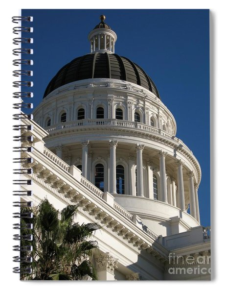 California State Capitol Dome Spiral Notebook