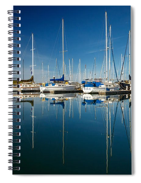 Calm Masts Spiral Notebook