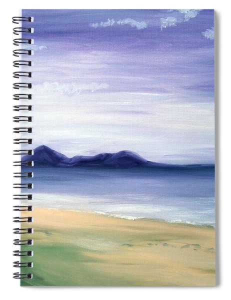 Calm Seashore Spiral Notebook