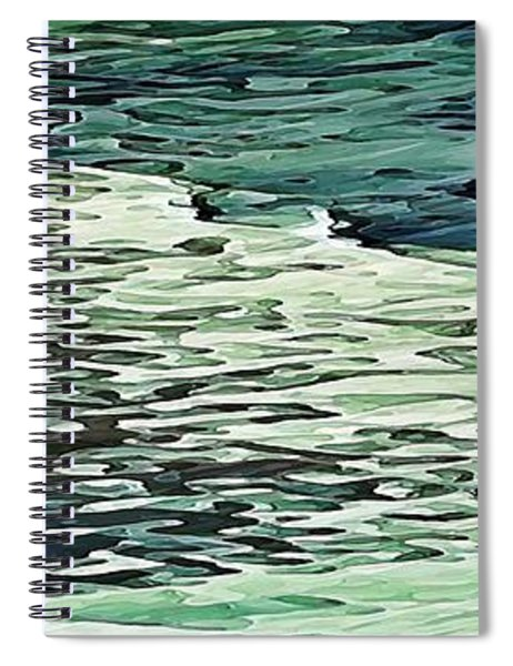 Calm Shores Spiral Notebook