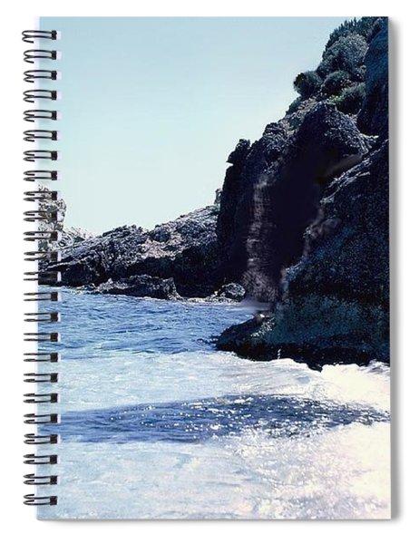 Calming Waves Spiral Notebook