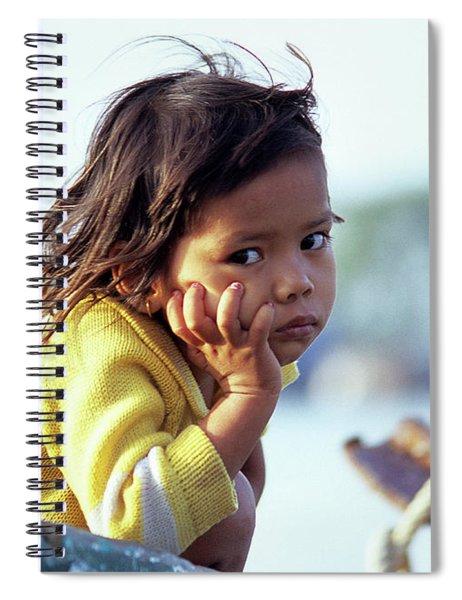 Cambodian Girl 01 Spiral Notebook