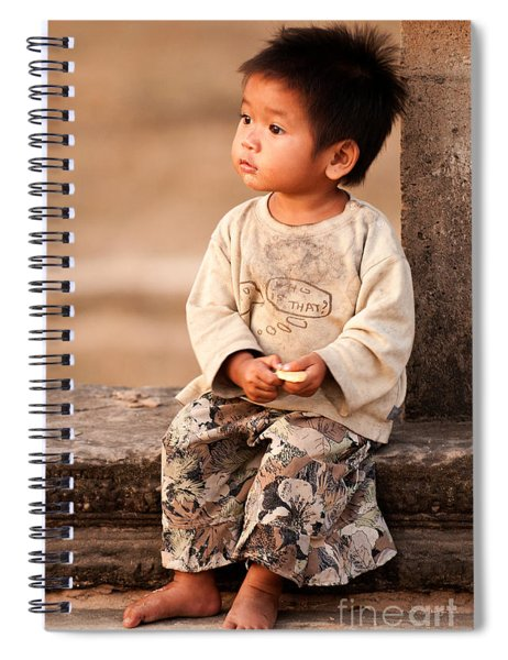 Cambodian Girl 02 Spiral Notebook