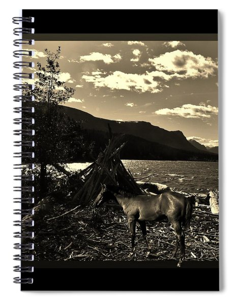 Camp Site Spiral Notebook