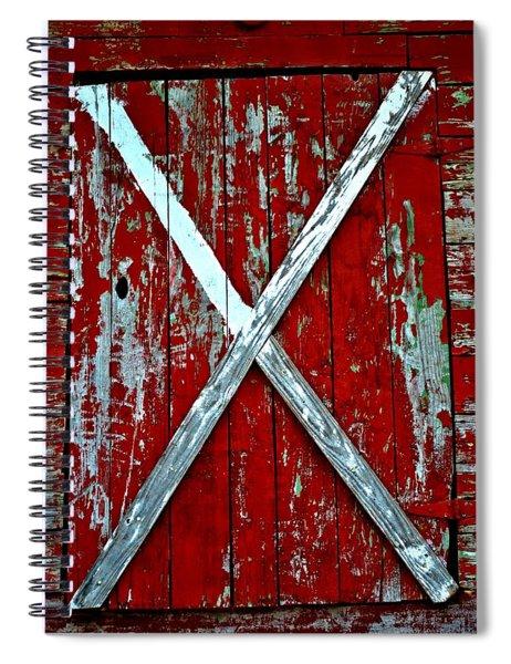 Camp Westminster Barn Spiral Notebook