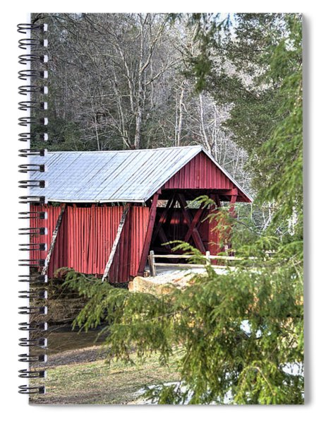 Campbell's Covered Bridge-1 Spiral Notebook